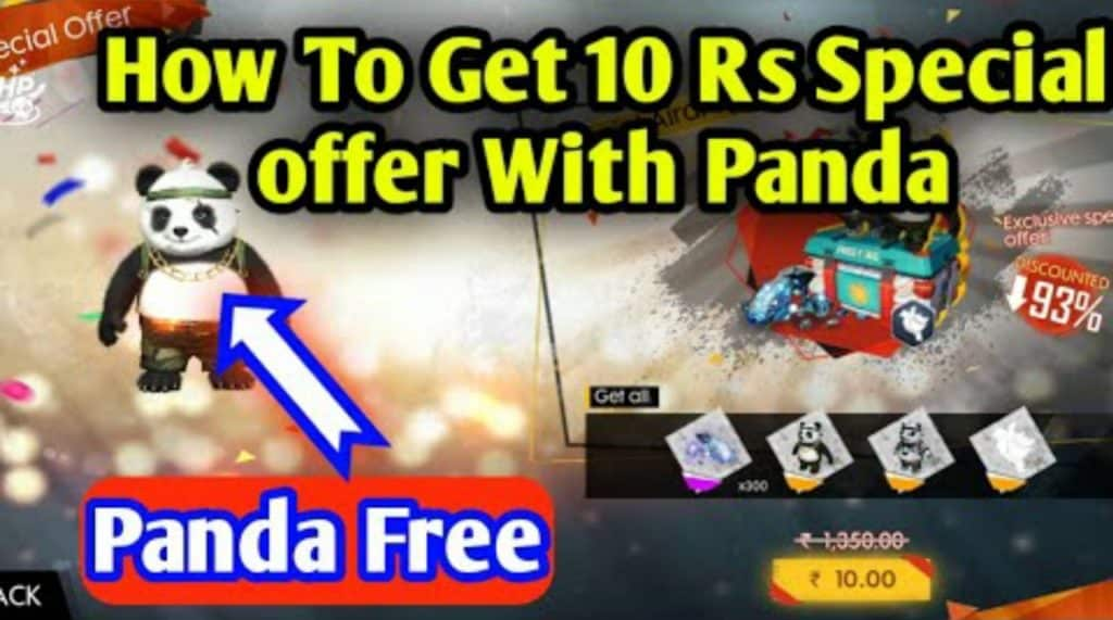 How to get free panda pet in free fire