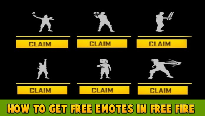 How To Get Free Emotes In Free Fire