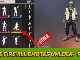 How To Unlock All Free Fire Emotes For Free