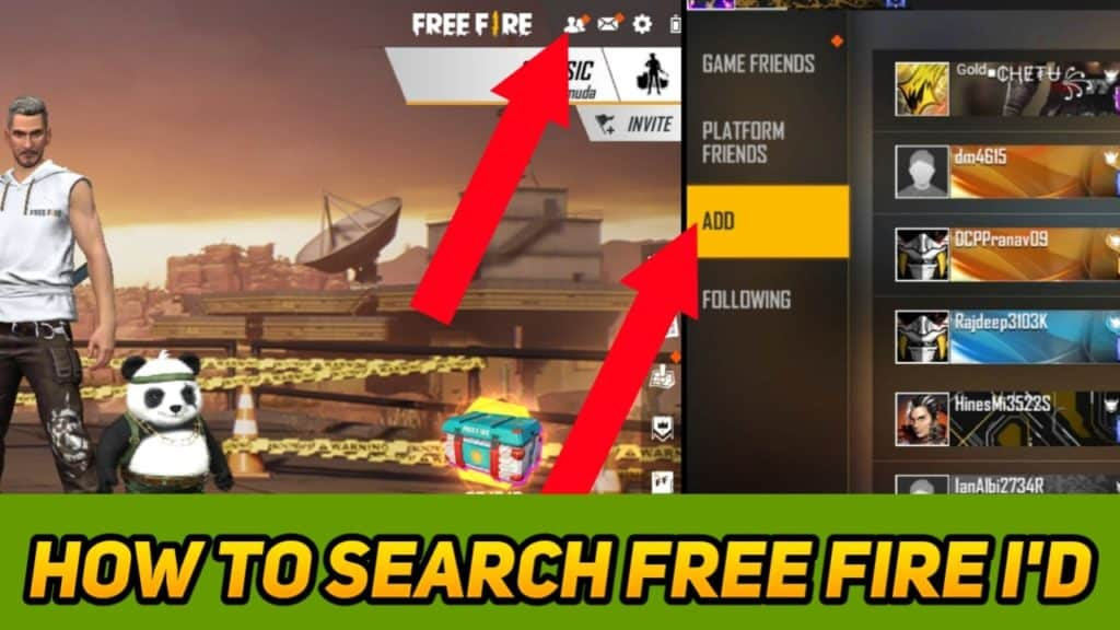 How To Get Free Fire Id And Password