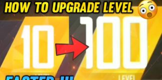 how to increase the level in free fire