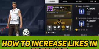 How to Increase Likes In Free fire