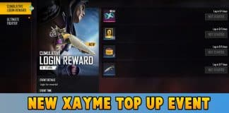 New Xayme Top Up Event