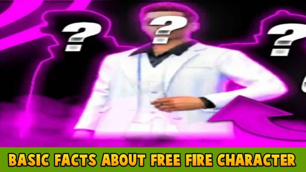 free fire best character
