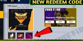 Free Fire Redeem codes For Today 11 June 2021