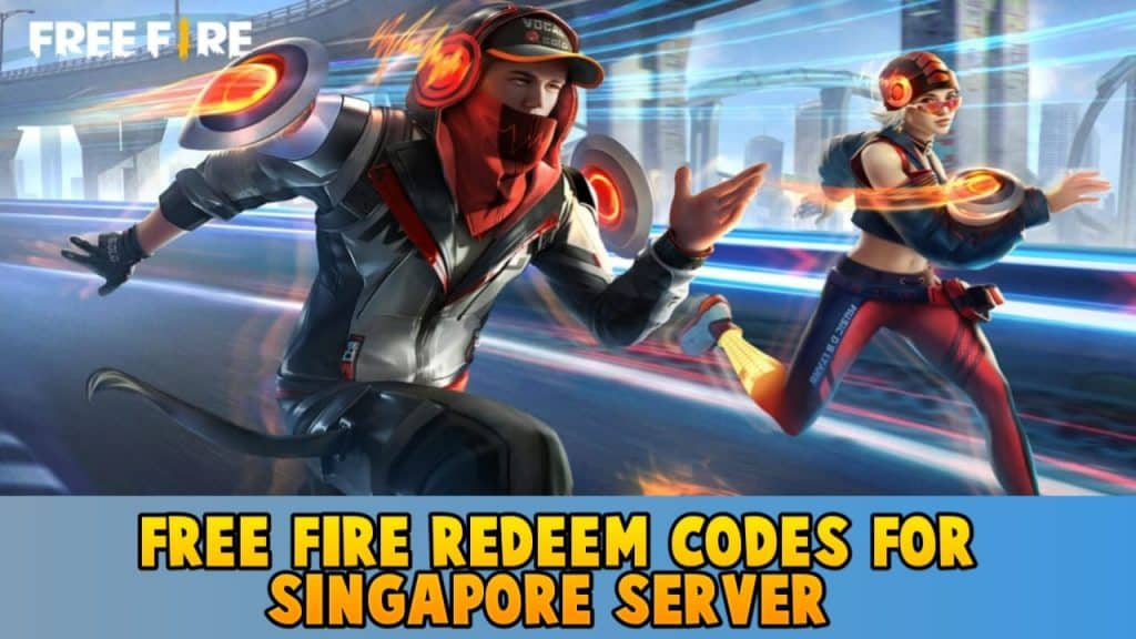 Free Fire redeem code for Singapore server 4 May 2021