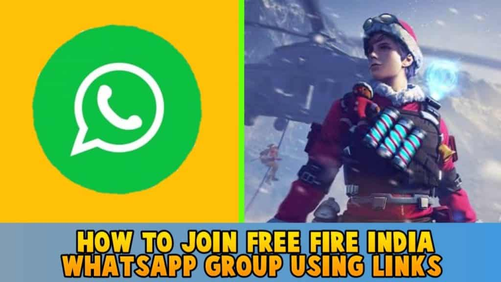 How to Join free fire India WhatsApp group using links
