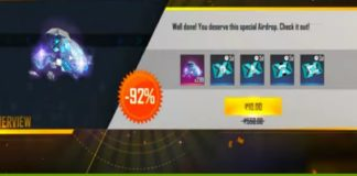 Free Fire 10 Rupees Offer Top Up Details