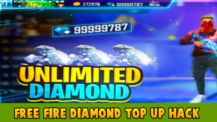 Is it possible to hack free fire diamond top up?