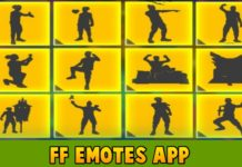 How to use FFEmotes App