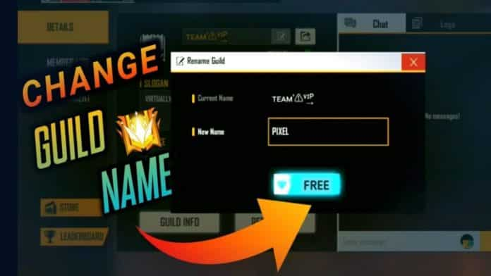 How To Change Guild Name In Free Fire