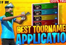 free fire tournament apps